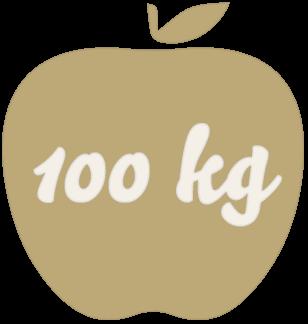 Für 100kg Äpfel gibt es aktuell
